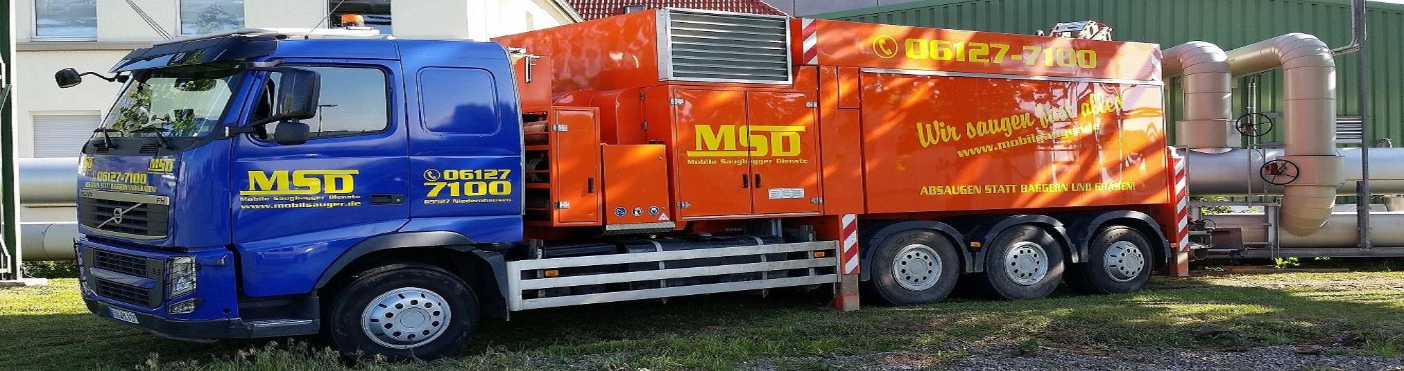 MSD Saugbagger SB 239.2